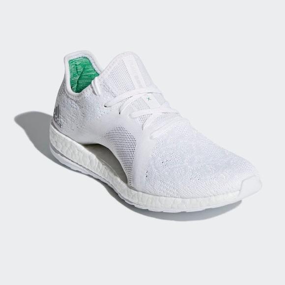 00aa9c3ab9f2f Adidas PureBOOST X Element 8.5 White
